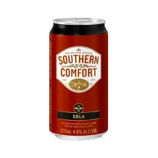 Southern Comfort & Cola Cans 375ml