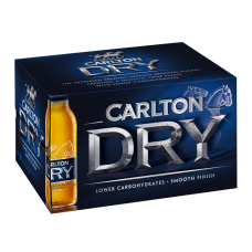 CARLTON DRY BTL 355ML X 24
