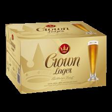 CARLTON CROWN LAGER BTL 375ML
