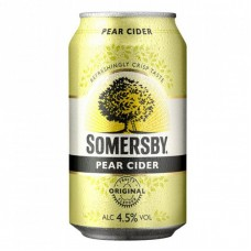 SOMERSBY CIDER PEAR CAN 10PK x 3 375ML