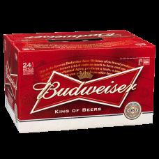 BUDWEISER BEER BTL 355ML