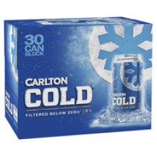 CARLTON COLD MID CANS 375ML 30PK