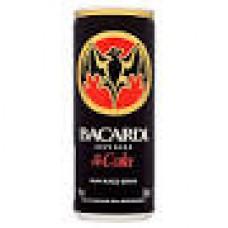 Bacardi & Cola Can 375ml x 24