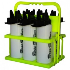 Water Bottles (Set of 8) and Carrier