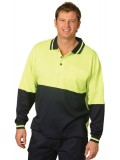 TrueDry® Long Sleeve Safety Polo S - 3XL