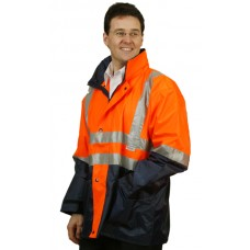 Hi-Vis Three in One Safety Jacket with 3M Tapes  S - 3XL