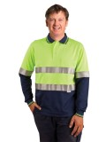 Men's TrueDry® Safety Long Sleeves Polo S - 3XL
