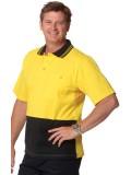 Men's 100% Cotton Jersey Safety Polo 4XL, 5XL,7XL