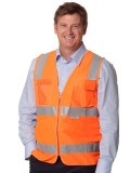 High Visibility Safety Vest with chest pockets and 3M Tapes