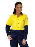 High Visibility Cool-Breeze Cotton Twill Safety Shirts