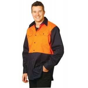 High Visibility Short Sleeve Work Shirts