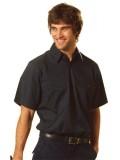 Cotton Drill Short Sleeve Short Sleeve Work Shirt S - 3XL