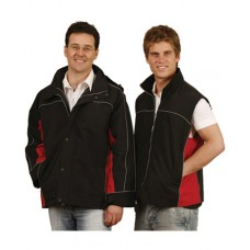 Adults 3-in-1 Jacket With Reversible Vest