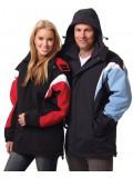 Adults Bathurst Tri-colour Jacket With Hood