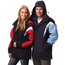 Adults Bathurst Tri-colour Jacket With Hood