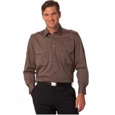 Adults Long Sleeve Military Shirt