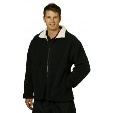 Adults Shepherd Polar Fleece Contrast Jacket