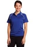 Ladies' CoolDry® Raglan Short Sleeve Contrast Polo