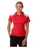 Ladies' TrueDry® Contrast Short Sleeve Polo