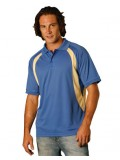 Men's CoolDry® Mesh Contrast Short Sleeve Polo