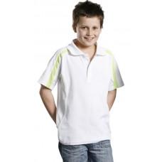 Kids' TrueDry® Fashion Short Sleeve Polo