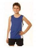Kids' Men's Contrast Cool- Dry® Mesh Singlet