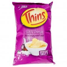 Thins Chip Slt&Vin 45gm x 18