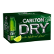 Carlton Dry Fus Lime btl 355ml x 24